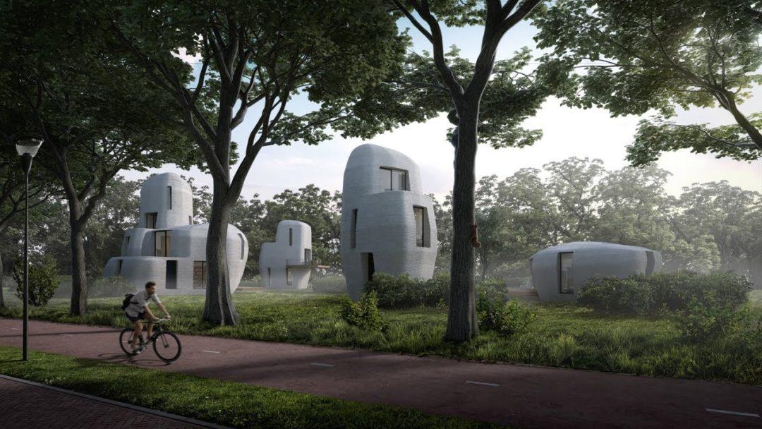Lotissement Eindhoven maison impression 3D